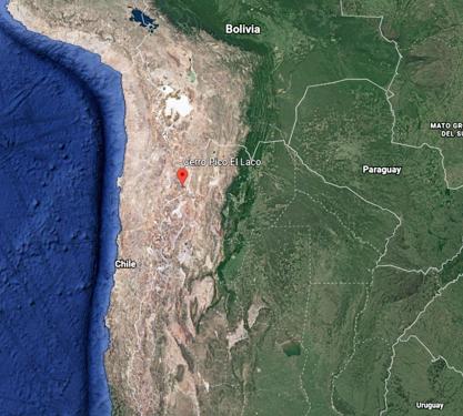 Laco: el volcán más raro del mundo