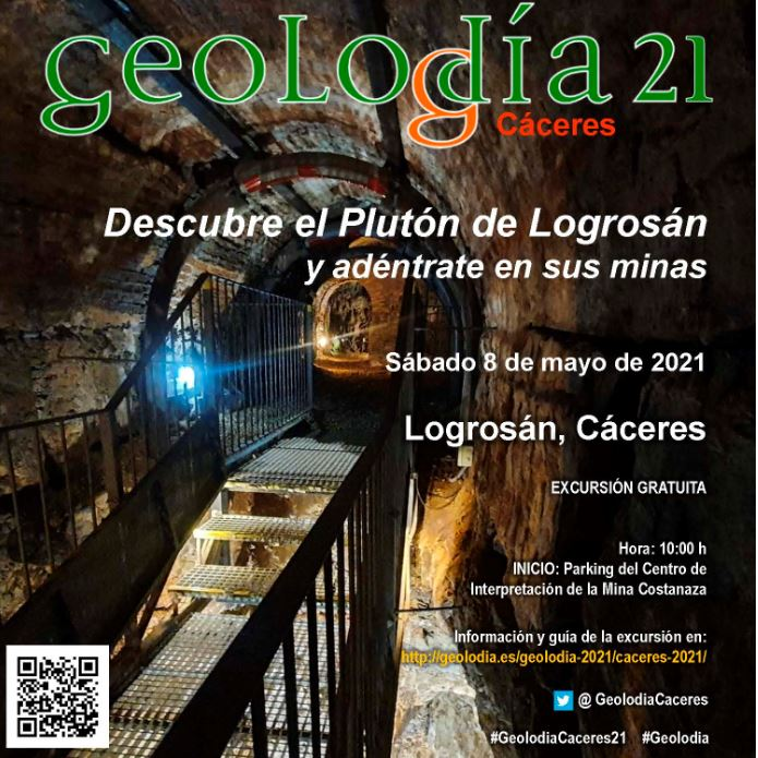 Se acerca el #Geolodia21 y este año el IGEO te lleva a Cáceres!
