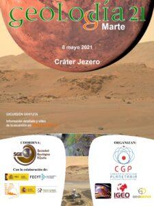 8 de mayo. Geolodía en Marte